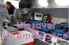 Pick the Air Ambulance from Dimapur at Low Cost