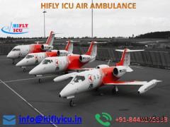 Best-Price Air Ambulance in Raipur by Hifly ICU