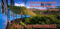 Get Medical Train/Rail Ambulance Service in Raipur at Economical Cost