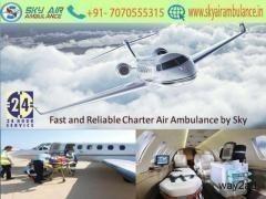 Use Branded ICU Setup Air Ambulance in Dehradun by Sky Air Ambulance