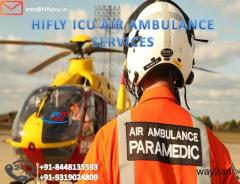 Pick Unmatched Air Ambulance Service in Bhopal by Hifly ICU