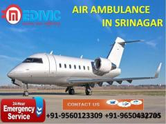 Get Latest Emergency Support Air Ambulance Service in Srinagar by Medivic