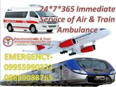 Take Panchmukhi Air Ambulance in Srinagar for Safely Relocate Your Patient