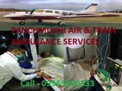 Shift Your Critical Patient by Panchmukhi Air Ambulance in Vellore with Medical Escort