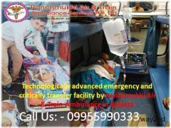 Recuperation Provision to the Patients by Panchmukhi Air Ambulance in Kolkata