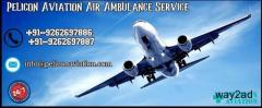 Affordable Price latest ICU Setup Air Ambulance in Kolkata By Pelicon Aviation