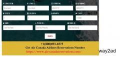 Air Canada Reservations +1(800)693-6575 Air Canada Flights