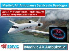 Medivic Air Ambulance Service in Bagdogra-Hire the Best