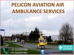 Pelicon Aviation Air Ambulance in Srinagar Provides Reliable Air Ambulance Service