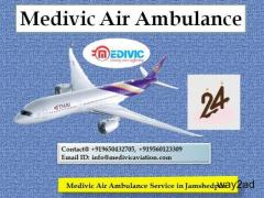 Medivic Air Ambulance Service in Jamshedpur-Hire the Excellent One