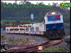 Get 24*7 Helpful Train Ambulance Service in Ranchi By Hifly ICU