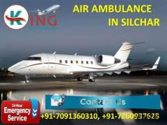 Book Low-Cost Exigency Patient Shifting Air Ambulance from Silchar by King