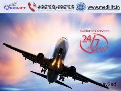 Hire Trusted Air Ambulance Service in Lucknow with ICU Facility