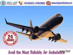 Choose Air Ambulance in Varanasi with full Life-Care Service