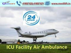 Reasonable Price Air Ambulance Service in Siliguri with Doctor