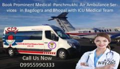 Panchmukhi Air Ambulance in Bagdogra Deliver the Patient Meeting All Amenities from Initial Point