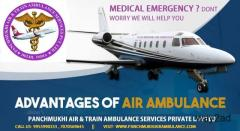Highly Advanced Panchmukhi Air Ambulance in Raipur with Top-Class Medical Service
