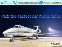 Hire Medical Support Air Ambulance Patna to Kolkata by Medilift