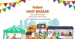 Haat Bazaar 2019-Street Shopping with Regional Food at Indore - BookMyStall