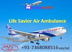 Very Low-Cost ICU Emergency Air Ambulance Service in Kolkata