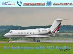 Get Unmatchable Air Ambulance Service in Kolkata – Medilift Air Ambulance