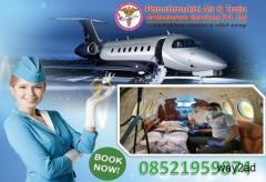 Pick Panchmukhi Air Ambulance Service in Kolkata with MD and MBBS Doctors