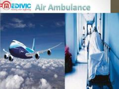 Private Air Ambulance Service in Gorakhpur by Medivic Aviation