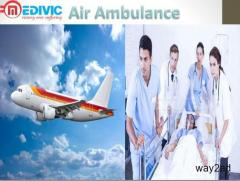 Medical Escort Air Ambulance Service in Mumbai by Medivic Aviation