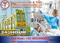 Get ICU Train Ambulance from Guwahati to Delhi - Panchmukhi