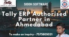 Tally ERP Authorised Dealer in Ahmedabad - 7575805021