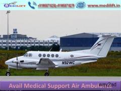 Take Safe Patient Transfer Air Ambulance Service in Varanasi