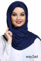 Checkout Blue Hijabs Fashion with huge discounts @ Mirraw
