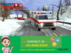 Get Comfortable Patient Transfer from Patna by Jansewa Panchmukhi Ambulance