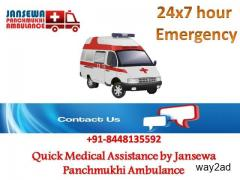 Choose Reliable ICU Setup Ambulance in Purnia with Physician