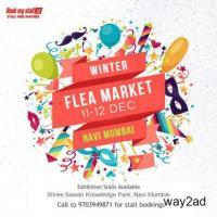 Winter Flea Market Exhibition at Navi Mumbai - BookMyStall