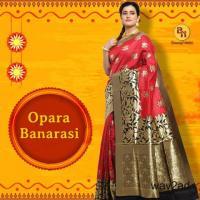 Excellent quality Banarasi silk sarees online from Banarasi Niketan