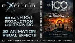 Vfx course-Pixelloid Studios