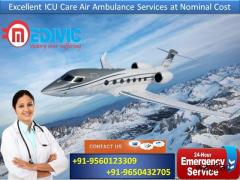 Avail Full Hi-tech ICU Support Air Ambulance in Ranchi by Medivic