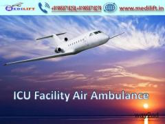 Book Immediate Medilift Air Ambulance from Kolkata with Doctor