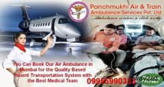 Emergency Charter Air and Train Ambulance in Mumbai – Panchmukhi