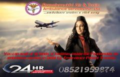 Medical Supported ICU Air Ambulance in Delhi by Panchmukhi- Book Now