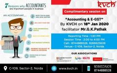 KVCH is conducting Accounting and E-GST Open Seminar