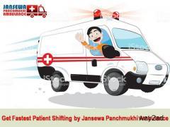 Avail Upgraded ICU Road Ambulance Service in Muzaffarpur