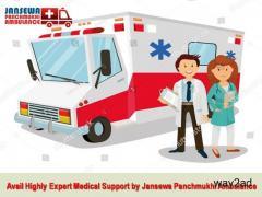 Get Full Medical Care Ambulance Service in Samastipur by Jansewa Panchmukhi Ambulance