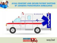 Avail Complete Healthcare Treatment in Road Ambulance from Sitamarhi