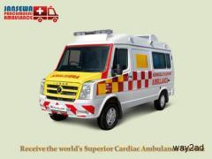 Take Secure Patient Shifting from Ranchi by Jansewa Panchmukhi Ambulance