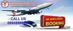 ICU Equipped Panchmukhi Air and Train Ambulance in Ranchi with Best Medical Team