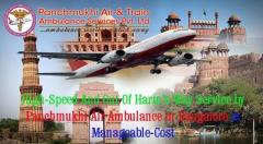 Panchmukhi Air and Train Ambulance in Bangalore with Medical Team