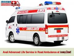 Avail Hi-Tech Road Ambulance Service in Jamshedpur at Minimum Cost