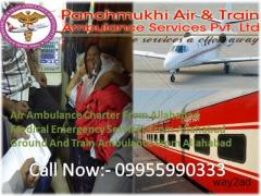 Panchmukhi Air and Train Ambulance in Allahabad to 24 hrs Medical Transport